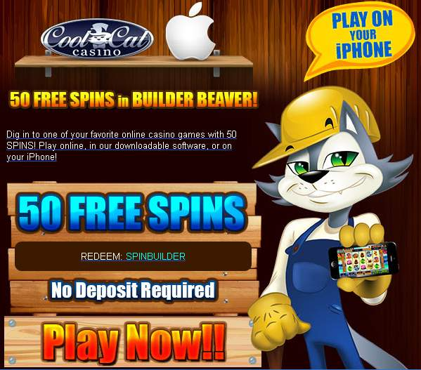 coolcat 50 free spins